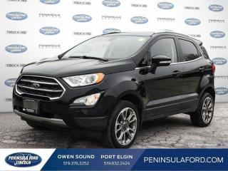 Used 2019 Ford EcoSport Titanium - Leather Seats - $128 B/W for sale in Port Elgin, ON
