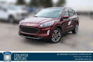 New 2021 Ford Escape SEL for sale in Tillsonburg, ON