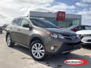 Used 2015 Toyota RAV4 LIMITED  for sale in Midland, ON