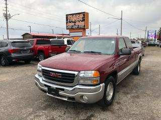 Used 2004 GMC Sierra 1500 SLE*ONLY 77KMS*LOW KMS*CLEAN BODY*CERTIFIED for sale in London, ON