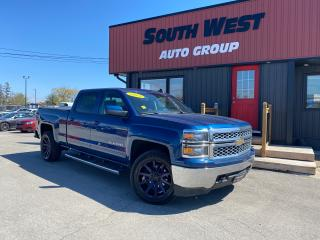 Used 2015 Chevrolet Silverado 1500 LT 4X4 BackUp Bed Liner Bluetooth Alloys Cruise for sale in London, ON