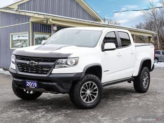 Used 2019 Chevrolet Colorado 4WD ZR2,4X4,NAVI,REMOTE START,OFF ROAD SUSPENSION for sale in Orillia, ON
