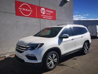 Used 2018 Honda Pilot EX-L/AWD/MOON ROOF/KEY LESS ENTRY/NAVIGATION/HEATED SECOND ROW for sale in Edmonton, AB