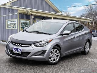 Used 2016 Hyundai Elantra GL, BLUETOOTH, USB, HEATED SEATS for sale in Orillia, ON
