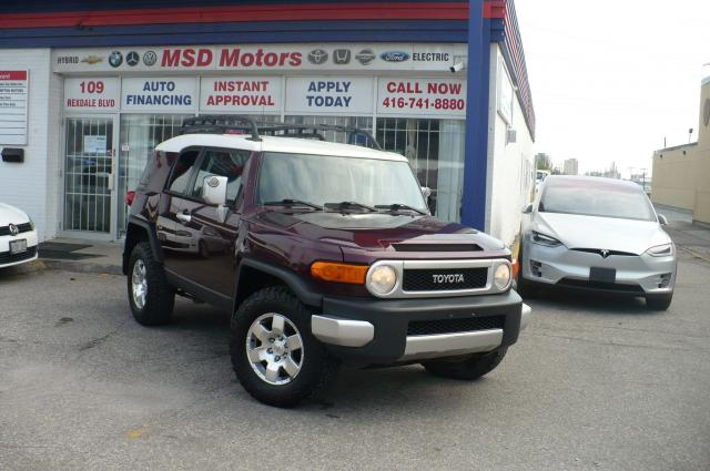 2007 Toyota FJ Cruiser 6 SPEED MANUAL/ALLOY/ ROOF RACK