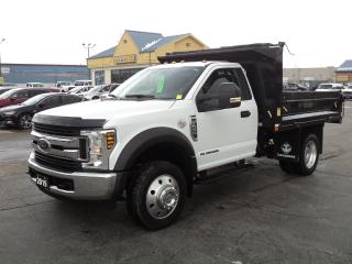 Used 2019 Ford F-450 XLT Cab Chassis DRW 6.7L Turbo Diesel 10ft DumpBox for sale in Brantford, ON