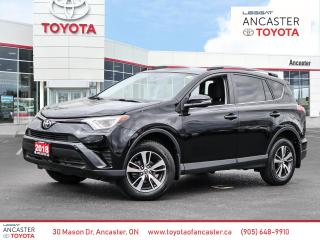 Used 2018 Toyota RAV4 LE | BACK UP CAM | BLUETOOTH | HEATED SEATS for sale in Ancaster, ON