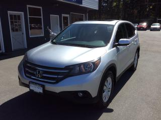 Used 2013 Honda CR-V EX-L for sale in Parksville, BC