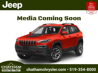 New 2021 Jeep Cherokee Trailhawk for sale in Chatham, ON