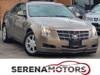 Used 2008 Cadillac CTS 3.6 | AUTO | PANO ROOF | HTD SEATS | NO ACCIDENTS for sale in Mississauga, ON