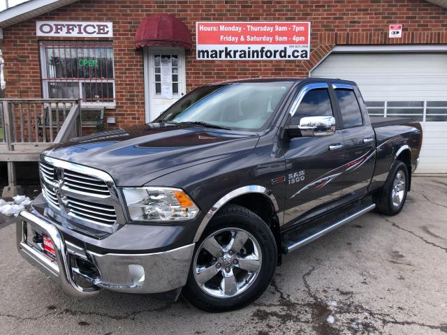 2016 RAM 1500 Big Horn EcoDiesel 4x4 Tow Package Touchscreen