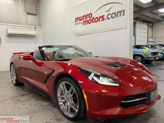 Used 2015 Chevrolet Corvette Stingray Z51 Conv w-2LT NPP NAV PDR MAGRIDE 7spd for sale in St. George, ON