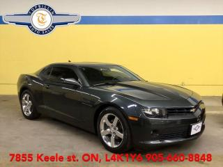 Used 2015 Chevrolet Camaro LT Auto, Back-up Cam, 2 Years Warranty included for sale in Vaughan, ON