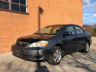 Used 2005 Toyota Corolla manual/SAFETY AND WARRANTY for sale in Oakville, ON