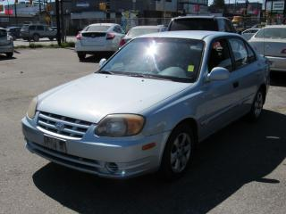Used 2004 Hyundai Accent BASE for sale in Vancouver, BC