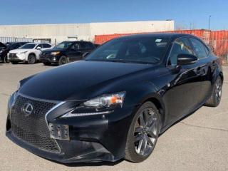 Used 2014 Lexus IS 250 AWD F-Sport.Navigation.Camera.Leather.Roof for sale in Kitchener, ON
