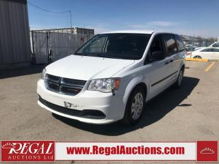 Used 2015 Dodge Grand Caravan CVP Wagon 2WD 3.6L for sale in Calgary, AB