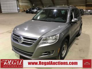 Used 2009 Volkswagen TIGUAN COMFORTLINE 4D UTILITY 4MOTION for sale in Calgary, AB