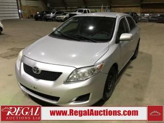 Used 2009 Toyota Corolla LE 4D Sedan for sale in Calgary, AB