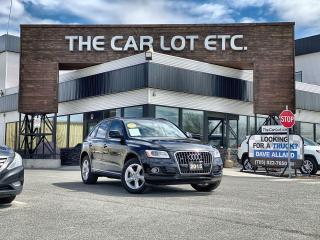 Used 2015 Audi Q5 2.0T Komfort AWD!! LEATHER!! BACK-UP CAMERA!! MEMORY SEATS!! for sale in Sudbury, ON