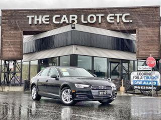 Used 2017 Audi A4 2.0T Komfort AWD!! SUNROOF!! LEATHER!! HEATED SEATS!! HEATED STEERING WHEEL!! for sale in Sudbury, ON