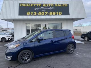 Used 2017 Nissan Versa Note 1.6 SR ONE OWNER! REAR BACKUP CAM! HEATED SEATS! HEATED MIRRORS! for sale in Kingston, ON