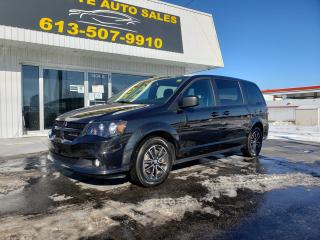 Used 2019 Dodge Grand Caravan CVP/SXT SXT Blacktop with Full STOW 'N GO, Backup Camera, Alloy Wheels, Tri-Zone Climate! for sale in Kingston, ON