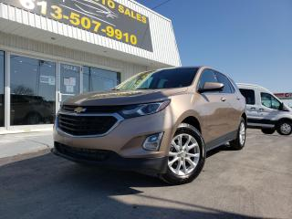 Used 2018 Chevrolet Equinox 1LT All Wheel Drive! Power Drivers Seat! Touch Screen! Heated Seats! for sale in Kingston, ON
