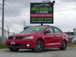 Used 2014 Volkswagen Jetta HIGHLINE,TSI,LEATHER,NAVIGATION,BACKUP-CAM,CERTIFI for sale in Mississauga, ON