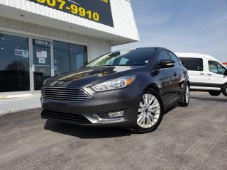 Used 2018 Ford Focus Titanium TITANIUM! LEATHER! SUNROOF! Parking Sensors! for sale in Kingston, ON