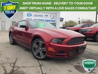 Used 2014 Ford Mustang V6 Premium LEATHER NAVIGATION SUPER LOW KMS!! for sale in Hamilton, ON