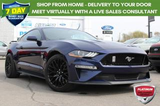 Used 2018 Ford Mustang GT Premium ONLY 10500 KMS!! ONE OWNER NO ACCIDENTS for sale in Hamilton, ON
