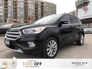 Used 2018 Ford Escape Titanium No Accidents, 4WD, AppLink/Apple CarPlay and Android Auto, Navigation System, Power driver seat, Spe for sale in North York, ON