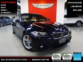 Used 2016 BMW 5 Series CLEAN CARFAX | M-SPORT | NAVI | CERTIFIED | FINANCE | 9055478778 for sale in Oakville, ON