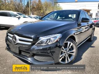 Used 2018 Mercedes-Benz C-Class DRIVER'S ASSIST  BURMESTER SOUND  PANO ROOF for sale in Ottawa, ON