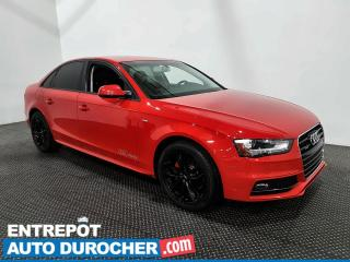 Used 2015 Audi A4 Komfort plus - AWD - Toit Ouvrant - Climatiseur for sale in Laval, QC
