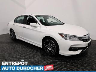 Used 2017 Honda Accord Sedan Touring - V6 - Navigation - Toit Ouvrant - Cuir for sale in Laval, QC
