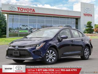 New 2021 Toyota Corolla Hybrid HYBRID w/Li Battery for sale in Whitby, ON