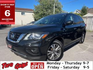Used 2017 Nissan Pathfinder S |  Bluetooth | B/Up Cam | Dual A/C | FWD for sale in St Catharines, ON