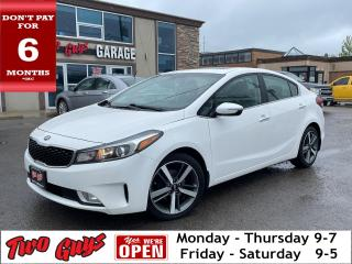 Used 2017 Kia Forte SX | Heated + Cooled Leather | Nav | Sunroof | for sale in St Catharines, ON