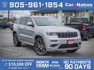 Used 2018 Jeep Grand Cherokee High Altitude 4x4| SOLD | SOLD | SOLD | SOLD | for sale in Burlington, ON