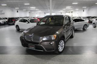 Used 2011 BMW X3 XDRIVE35i NO ACCIDENTS I PANOROOF I PUSH START I BT I AS IS for sale in Mississauga, ON