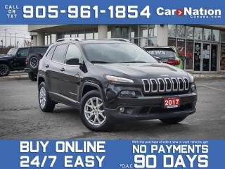 Used 2017 Jeep Cherokee North 4x4| LOCAL TRADE| PANO ROOF| NAV-READY| for sale in Burlington, ON