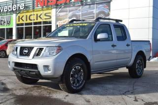 Used 2018 Nissan Frontier Crew Cab Bed PRO 4 X  LEATHER for sale in Toronto, ON