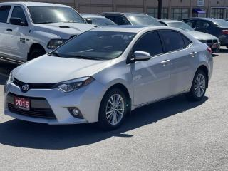 Used 2015 Toyota Corolla 4dr COROLLA /SUNROOF/6 MONTHS WARRANTY INCLUDED for sale in Brampton, ON