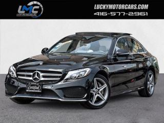 Used 2018 Mercedes-Benz C-Class C 300 4MATIC AMG SPORT PKG-PANOROOF-360 CAMERA-NAV-45KMS for sale in Toronto, ON