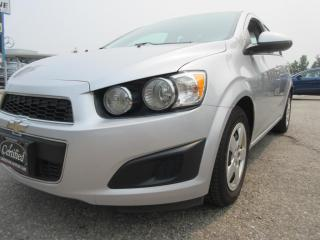 Used 2014 Chevrolet Sonic LS/ ACCIDENT FREE for sale in Newmarket, ON
