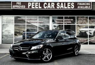 Used 2017 Mercedes-Benz C-Class C300|CLEANCARFAX|PRECERTIFIED|PRICEMATCHPOLICY| for sale in Mississauga, ON