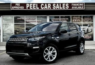 Used 2017 Land Rover Discovery SPORT HSE|PRECERTIFIED|PRICE.MATCH.POLICY| for sale in Mississauga, ON
