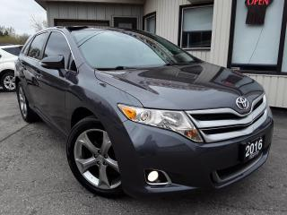 Used 2016 Toyota Venza XLE V6 AWD - LEATHER! NAV! BACK-UP CAM! PANO ROOF! for sale in Kitchener, ON